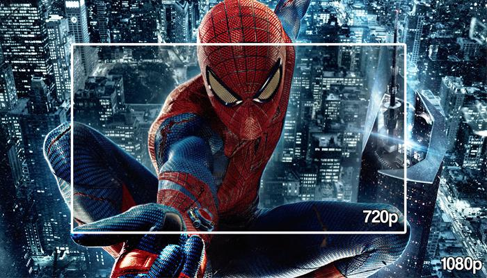Máy chiếu Full HD cho hình ảnh sắc nét.