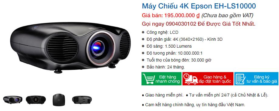 Máy chiếu phim 4K Epson