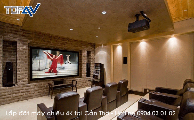 Chuyên tư vấn lắp đặt máy chiếu 4K tại Cần Thơ - Đỉnh Cao Công Nghệ