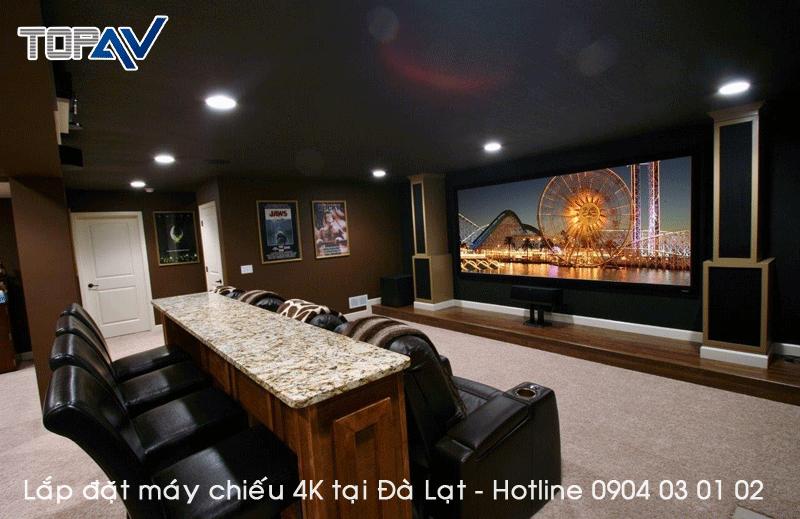 Chuyên tư vấn lắp đặt máy chiếu 4K tại Đà Lạt - Đỉnh Cao Công Nghệ