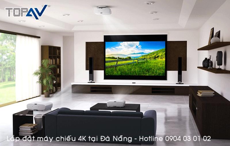 Chuyên tư vấn lắp đặt máy chiếu 4K tại Đà Nẵng - Đỉnh Cao Công Nghệ