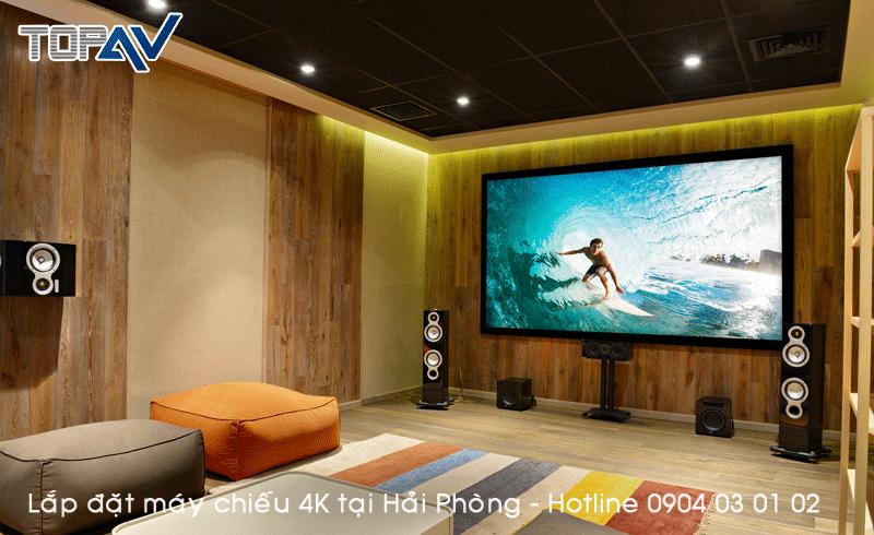 Chuyên tư vấn lắp đặt máy chiếu 4K tại Hải Phòng - Đỉnh Cao Công Nghệ