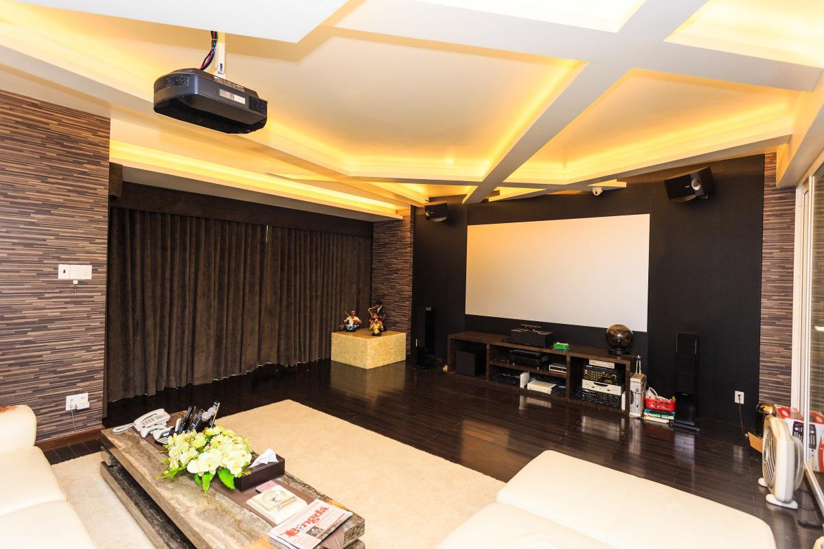 Tư vấn thiết kế phòng chiếu phim gia đình - TOPAV