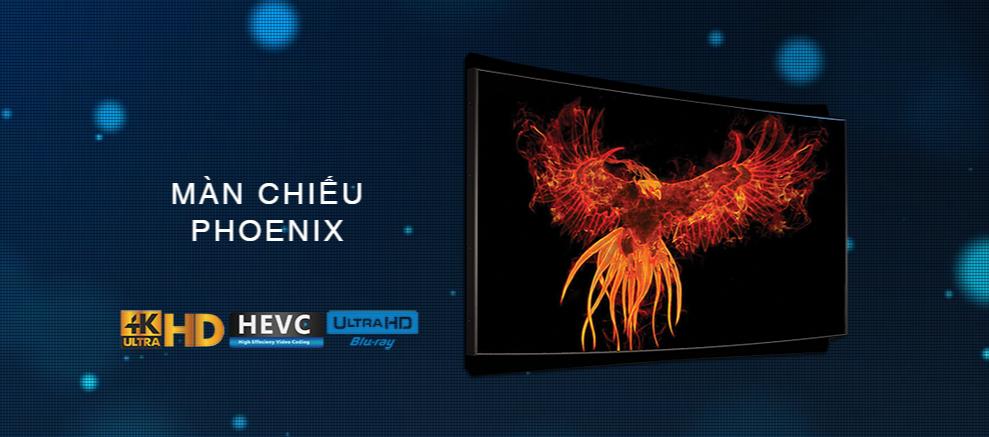 Màn chiếu 4K 3D-Tek Phoenix