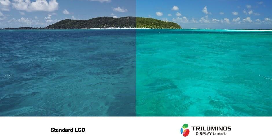 Màu sắc sống động với TRILUMINOS ™