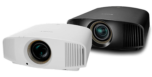 Máy chiếu Sony VPL-VW320ES có sẵn hai màu trắng và đen